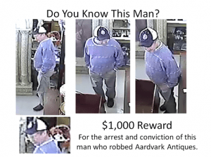 $1,000 Reward For Info Leading to This Man's Arrest and Conviction