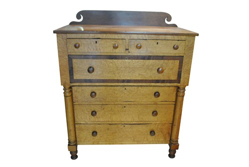 Bonnet Chest of Drawers Ca. 1860